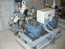 加圧ポンプユニット、揚水ポンプの点検